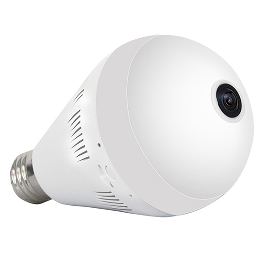 2MP 1080P HD 360degree VR Panoramic Full Color Night Vision WIFI HD Bulb IP Camera