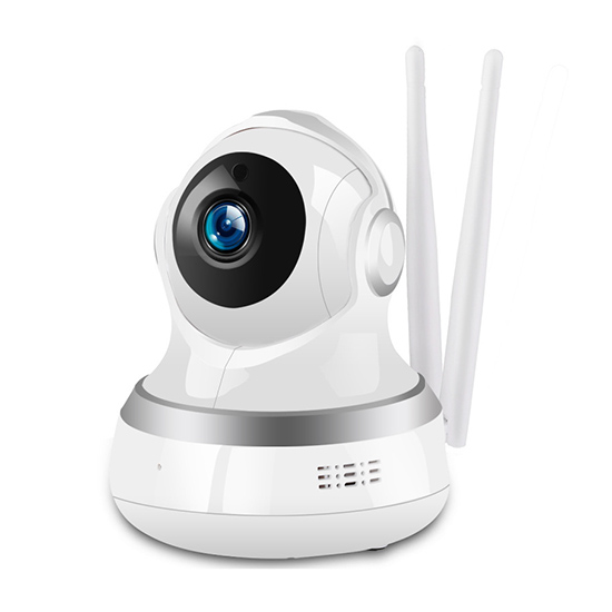 Indoor Double Antenna 1080P 360degree Rotating Wireless WIFI Fast Connection Smart Cloud Storage Monitoring IP Camera