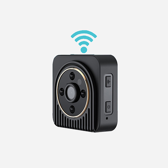 1megapixels 720P WIFI Connection Li-ion Battery No-light Night Vision Home Mini HD IP Camera