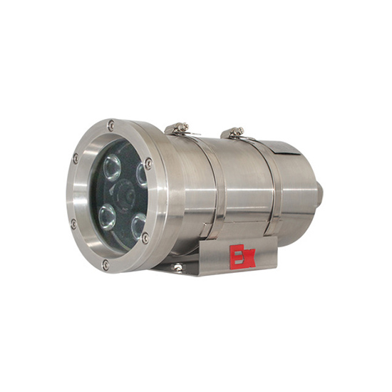 2megapixels 4pcs array IR LED TI chip 304stainless steel professional CT6 Explosion-proof bullet IP Camera