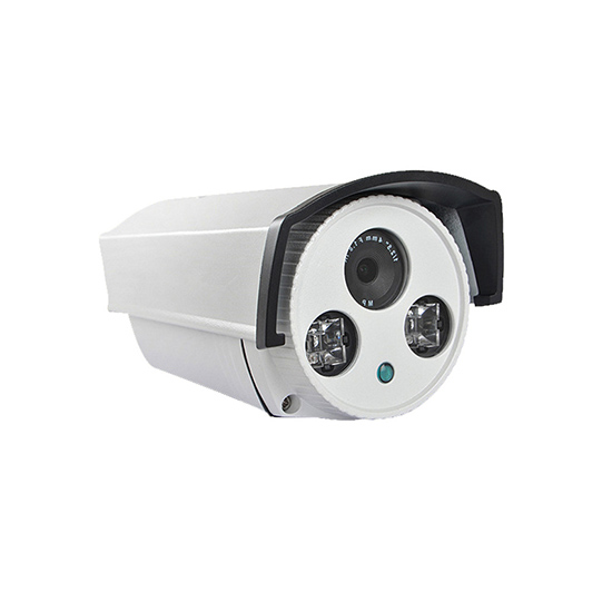 720P 1MP POE Power Supply Aluminum Alloy Outdoor IP66 Waterproof Bullet IP Camera