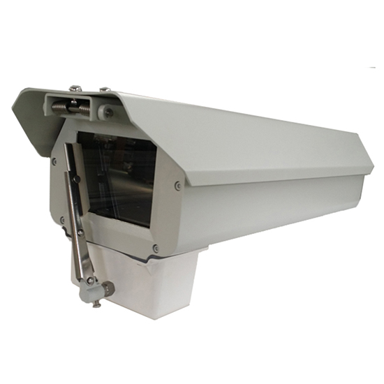 Large Dimension Aluminium Alloy Outdoor IP66 Waterproof Surveillance Security CCTV Camera Housing Shield with Wiper