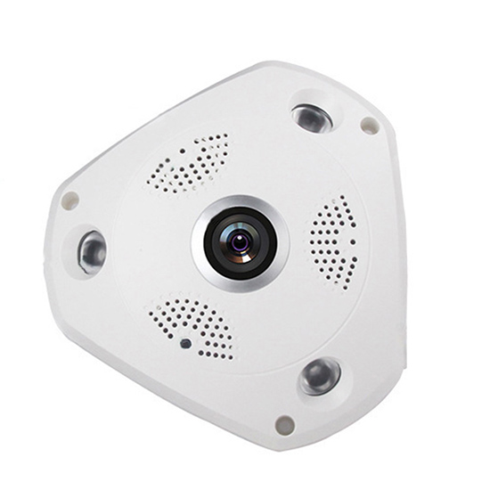 360degree Panorama Fisheye Plastic VR Array IR LED Monitoring Security Surveillance CCTV Camera Housing Shell Case Cover