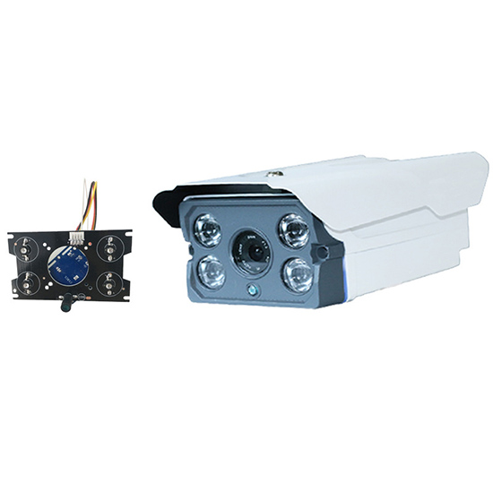 #90 4*Array IR LED Board Aluminum Alloy Metal IP66 Waterproof CCTV Security Surveillance Bullet Camera Housing Shell Case