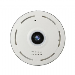 1080P 2MP indoor 360degree panorama wireless connection wifi insert-card SD storage ip monitoring camera