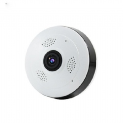 Fisheye Lens Wireless WIFI Connection Flying Saucer 360degree Panorama IP Camera