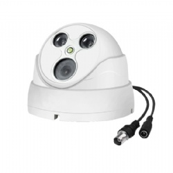 2megapixels 1080P AHD Coaxial HD IR Night Vision Dome Indoor Monitoring Surveillance Camera