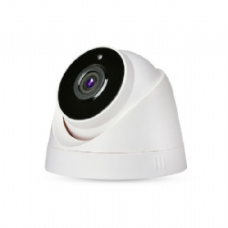 H.265 Video Compression Hisilicon 2MP 1080P HD IR LED POE Power Supply Indoor Dome IP Camera