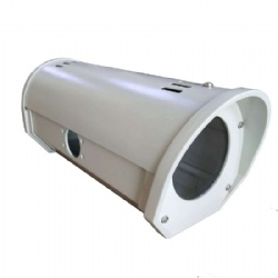 Aluminum Alloy Outdoor IP66 Waterproof Surveillance CCTV Camera Cylinder Protective Shield Housing Cover 12inch