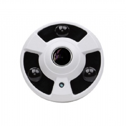 2megapixels 1080P 2MP HD H.265 360degree fisheye panoramic POE Power Supply CCTV Security Surveillance IP Camera