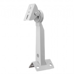 Aluminum Alloy Outdoor Telegraph Upright Post Pillar Mounted Multi-directional Pole Mount Bracket for CCTV Camera