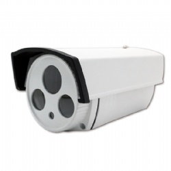 #90 Aluminum Alloy Metal Waterproof Array LED Security CCTV Surveillance Camera Housing Cover Shell Case